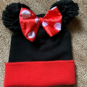 Minnie Mouse kids hat